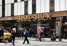 Theater District, NYC | Shake Shack Apparently the best burgers 691 8th Avenue @ 44th street