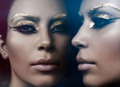 Kim Kardashian for Violet Grey, 2015.