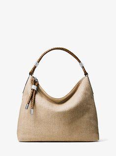 8e1880e4ba54 Skorpios Woven Shoulder Bag Michael Kors Tote Bags