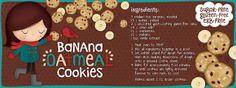 English    is    FUNtastic: Recipe: Banana Oatmeal cookies