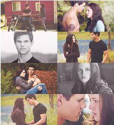 "Jake n Bells- the real love story. ""Twilight"" was a tragic tale Twilight Jacob, Twilight Film, Twilight Quotes, Twilight Breaking Dawn, Twilight New Moon, Twilight Pictures, Love Movie, Movie Tv, Jacob And Bella"