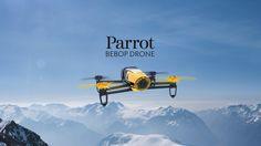 Parrot Bebop Drone. Le quadricoptère robuste et ultra-léger - Caméra Fisheye de 14 megapixels avec résolution Full HD 1080p - Skycontroller - Stabilisateur d'image triaxial
