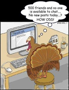 15 best funny pics about Thanksgiving Day Funny Turkey Pictures, Best Funny Pictures, Funny Cartoons, Funny Comics, Funny Jokes, Hilarious, Cartoon Jokes, Turkey Jokes, Thanksgiving Cartoon