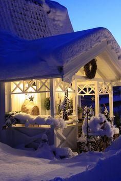 Sjarmerende jul Scandinavia.  so beautiful!