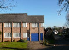 housing by Peter Womersley at Simpson, Milton Keynes Image Chart, Milton Keynes, Postwar, Urban, City, Outdoor Decor, 1960s, Houses, Dreams