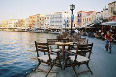 Rethymnon harbour (venetian buildings, fort, etc) Crete Island, Greece Islands, Rethymnon Crete, Places To Travel, Places To Visit, Crete Greece, Travel Memories, Greece Travel, Summer Travel