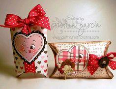 más y más manualidades: Crea bellas cajitas para este San Valentín con un solo molde