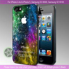 Galaxy Nebula Stars Special Design - iPhone 4 / iPhone 4S / iPhone 5 / Samsung S2 / Samsung S3 / Samsung S4 Case Cover