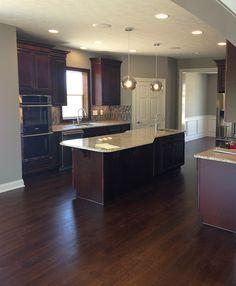 25 - Kitchen Inspiration   Michael David Design Center   #interiordesign #kitchen #backsplash #tiledesign #luxuryhome #flooring
