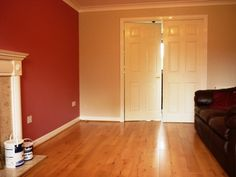 Living room - Raspberry Diva & Gentle Fawn (Dulux) Bedroom Colours, Living Room Colors, Colour Combinations, Colour Schemes, Dulux Trade, Dulux Paint, Bedroom Ideas, Bedroom Decor, Decorating Ideas