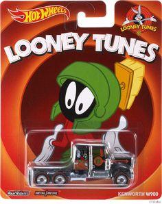 Hot Wheels Looney Tunes Marvin the Martian Kenworth . Model Truck Kits, Model Car, Disney Cars Toys, Hot Wheels Display, Color Mixing Chart, Weird Cars, Crazy Cars, Custom Muscle Cars, Marvin The Martian