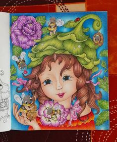 Adult Coloring, Coloring Books, Colouring, Markova, Enchanted, Fairy, Princess Zelda, Photo And Video, Flowers