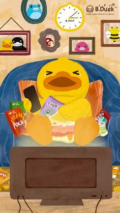 Phone Wallpapers, Cute Wallpapers, Cute Memes, Buffy, Rubber Duck, Character Illustration, Cartoon Characters, Toy Chest, Woods