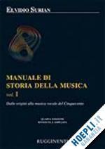 Prezzi e Sconti: #Manuale di storia della musica vol. i  ad Euro 24.50 in #Musica cinema e teatro musica #Rugginenti
