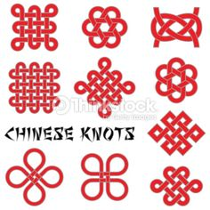 Clipart vectoriel : Chinese knots