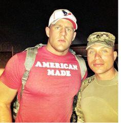 JJ Watt & US Troop