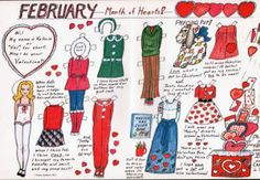 February Month of Hearts