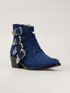 Toga Pulla Buckled Ankle Boots - Elite - Farfetch.com