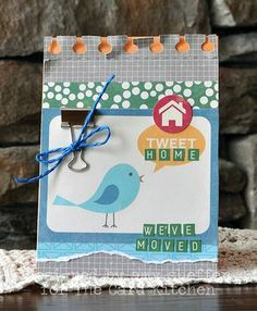 Home tweet home Card by Amy Sheffer via The Card Kitchen Kit Club using April 2014 Card Kitchen Kit
