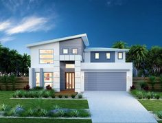 We Love Beautiful Home Architecture Ideas 28 - lowesbyte Large Homes Exterior, Modern Exterior, Flat Roof House, Facade House, House Facades, Custom Home Designs, Custom Homes, Hawaii Homes, Dream House Exterior