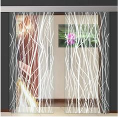 us - Modern 2 Leaf Sliding Glass Barn Door, Inches - Interior Doors Sliding Glass Barn Doors, Double Glass Doors, Contemporary Interior Doors, Tempered Glass Door, Sandblasted Glass, Safety Glass, Line Design, Frosted Glass, Windows And Doors