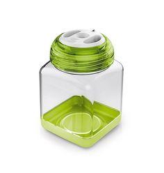 Plastik Gewürzbehälter 8 x 8 x h 12 cm - 0,45 l
