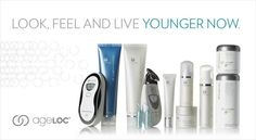 NU SKIN.. LOOK, FEEL AND LIVE YOUNGER NOW...  INTERESTED? PM ON FACEBOOK