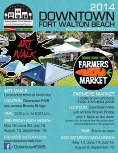 Events Downtown Ft. Walton Beach,  FL | The Landing and Miracle Strip Pkwy