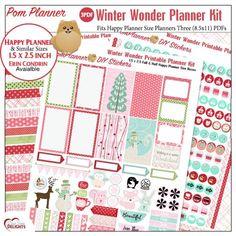 Free Winter Printable Planner Stickers from BIbleJournalingDigitally erin condren the happy planner plum planner Me and my big ideas, MAMBI #planneraddict #plannerfreebie #heartofwisdom
