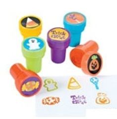 $1.99For:6 Halloween Trick or Treat Stamps / Stampers ~ Approx. 1.5 ~ New / Shrink-wrapped by FX, http://www.amazon.com/dp/B00EZ7AEXC/ref=cm_sw_r_pi_dp_Ptgksb0G89NGB