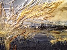 Building texture with stitch....Laura Edgar