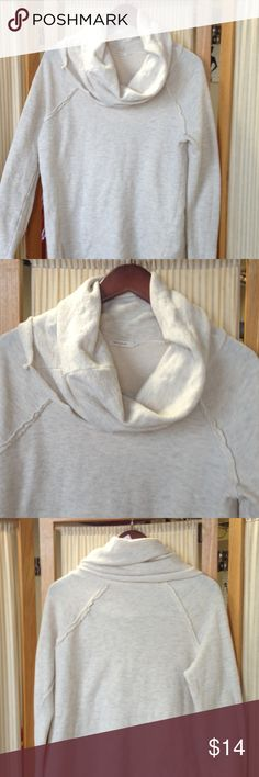 Anthropologie 12PM by Mon Ami Top Cowl sweatshirt   Great condition Anthropologie Tops