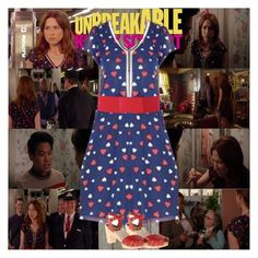 """""""Unbreakable Kimmy Schmidt~2x01~Kimmy Goes Roller Skating!"""" by tvshowobsessed ❤ liked on Polyvore featuring Piet Hein Eek"""