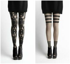 Everyone needs to try some crazy tights this fall I love them!