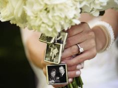 7 Heartfelt Wedding Memorial Ideas ... what a touching way to have a parent represented that couldn't be there on your day.