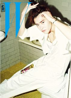 "Lee Jong Suk Lays Topless in Bed for ""W Korea"" - Soompi Jung Suk, Lee Jong Suk, Lee Jung, Korean Actresses, Korean Actors, Korean Idols, Jack Falahee, Doctor Stranger, W Korea"