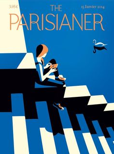 The Parisianer is back! super excited to be part of the new covers ; ) @TheParisianer http://theparisianer.fr