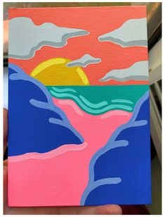 𝕞𝕒𝕕𝕖 𝕓𝕪 𝕒𝕟𝕟𝕒 𝕝𝕖𝕚𝕘𝕙🦋 #cool #painting #ideas #trippy #easy #coolpaintingideastrippyeasy Small Canvas Paintings, Easy Canvas Art, Small Canvas Art, Cute Paintings, Mini Canvas Art, Acrylic Painting Canvas, Diy Painting, Simple Paintings On Canvas, Diy Canvas