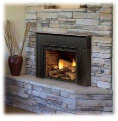 Gas Fireplace Inserts