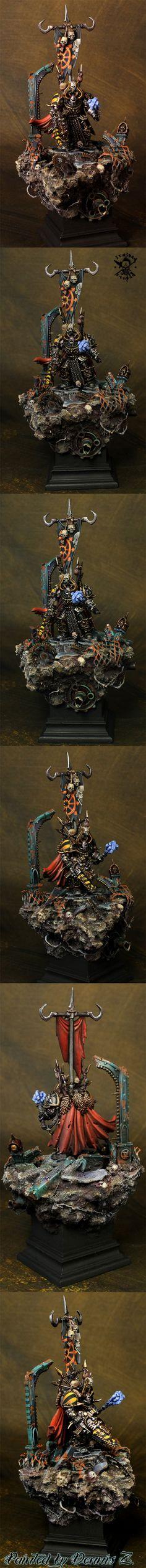 Iron Warriors Chaos Terminator conversion