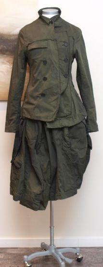 stilecht - mode für frauen mit format... - rundholz dip - Jacke Doppelreiher frog - Winter 2014