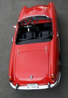 1965 Alfa Romeo Giulia Spider. Wish mine had looked this good!