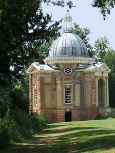 Wrest Park, Bedfordshire. Archer Pavilion was originally built as a magnificent banqueting house in the grounds of Wrest Park in 1710.