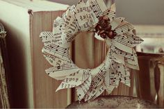Looks like a great way to use some OLD sheet music I've had tucked away... and since I can't play a single note ~ ~ ~