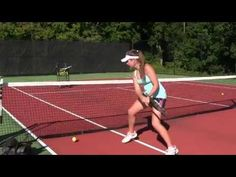 Tennis Drills - 3 Great Drills to Improve the Speed of your Shots - YouTube