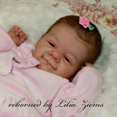 Limited Edition reborn baby doll kit Ruby by Natali Blick