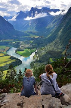 Andalsnes, Norway. When you climb a mountain, you are rewarded for your effort!