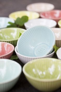 Lingon - Small bowl (13 euro) via Mia Blanche Keramik. Click on the image to see more!