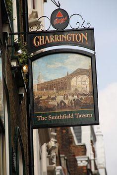 The Smithfield Tavern, Charterhouse Street, EC1