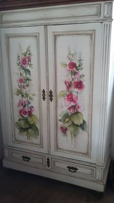 Our site described shabby chic furniture projects Decoupage Furniture, Hand Painted Furniture, Refurbished Furniture, Paint Furniture, Repurposed Furniture, Furniture Makeover, Furniture Decor, Furniture Projects, Trendy Furniture